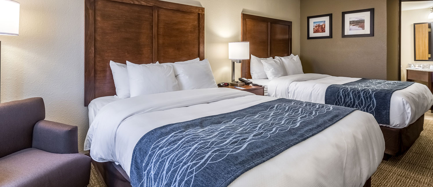 We have Clean and Comfortable Rooms That Can Accommodate Large Families