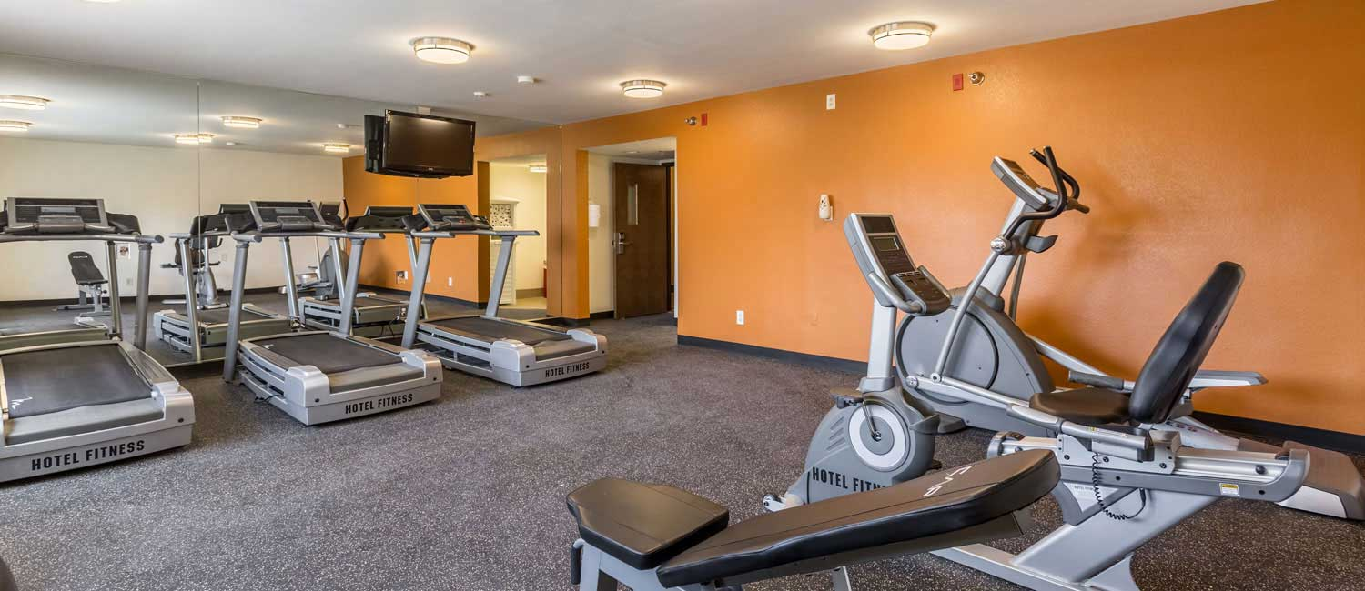 Break A Sweat In Our Fitness Room