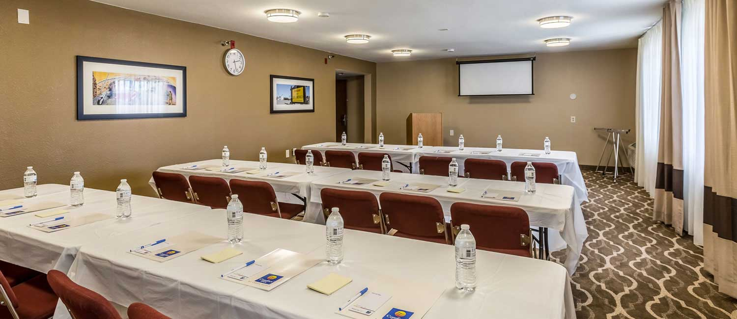 Our Old Town Albuquerque Hotel Provides An Adequate Sized Conference Room