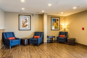 Comfort Inn & Suites Albuquerque - Lounge Area