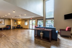 Comfort Inn & Suites Albuquerque - Large Lobby with Plenty of Seating