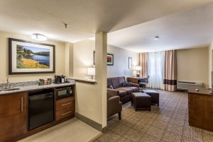 Comfort Inn & Suites Albuquerque - Suite with Living Area