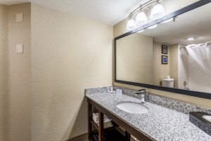 Comfort Inn & Suites Albuquerque - Guest Bathroom Vanity